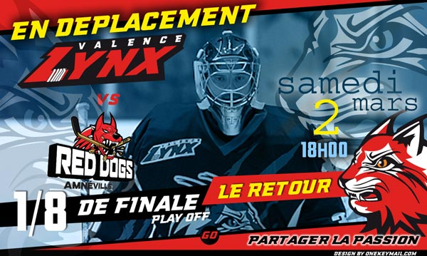 lynx hockey valence drome red dogs amneville moselle phase finale