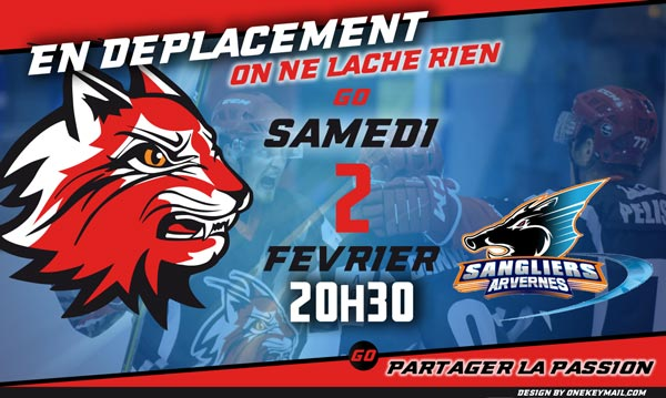Lynx Hockey Valence Drome Clermont Ferrand Sangliers Avernes